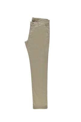 Erkek Giyim - AÇIK BEJ 48 Beden Slim Fit Spor Pantolon