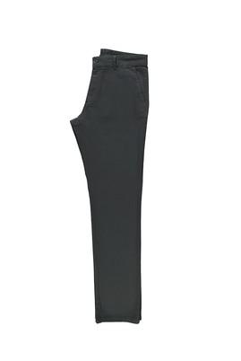 Erkek Giyim - ORTA FÜME 48 Beden Slim Fit Kuşgözü Spor Pantolon