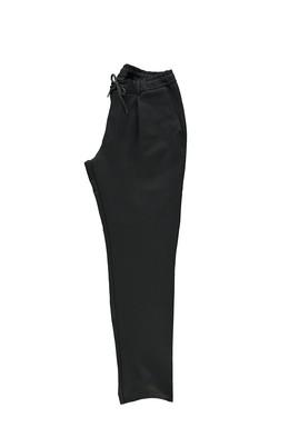 Erkek Giyim - SİYAH 54 Beden Spor Bağcıklı Pantolon
