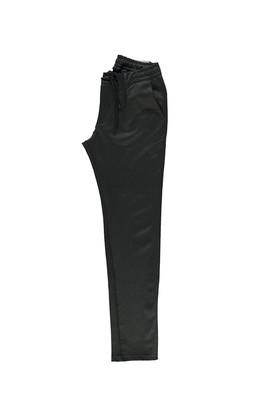 Erkek Giyim - ORTA FÜME 46 Beden Slim Fit Bağcıklı Spor Pantolon