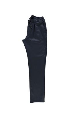 Erkek Giyim - AÇIK LACİVERT 50 Beden Spor Bağcıklı Pantolon