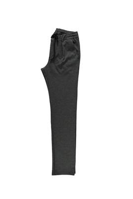 Erkek Giyim - ORTA FÜME 54 Beden Spor Bağcıklı Pantolon