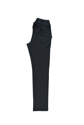 Erkek Giyim - ORTA LACİVERT 50 Beden Spor Bağcıklı Pantolon