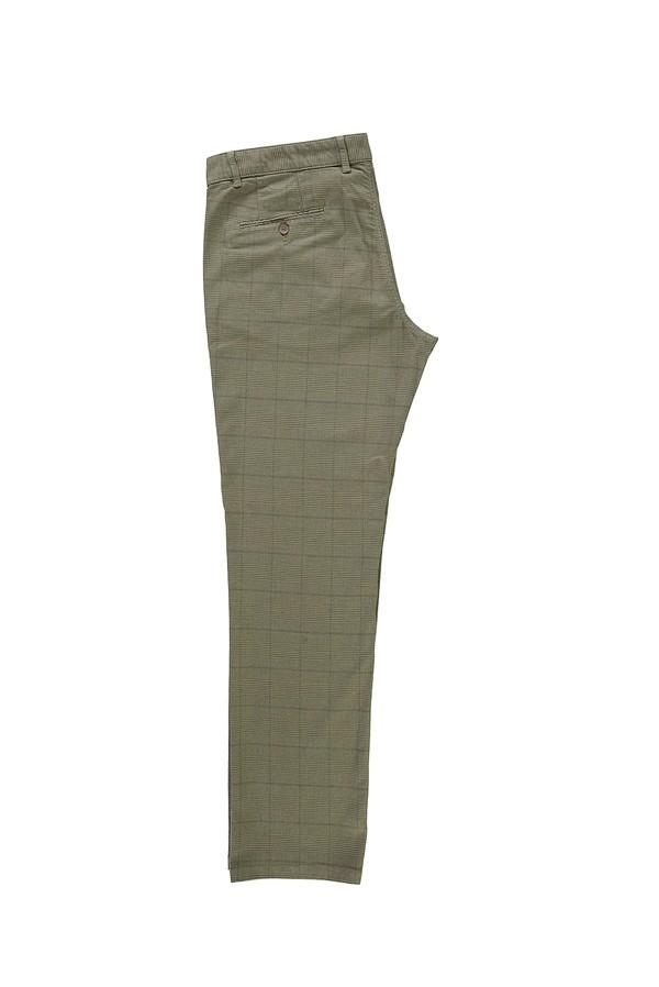 Klasik Ekose Pantolon