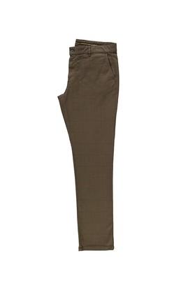 Erkek Giyim - ORTA VİZON 50 Beden Klasik Ekose Pantolon