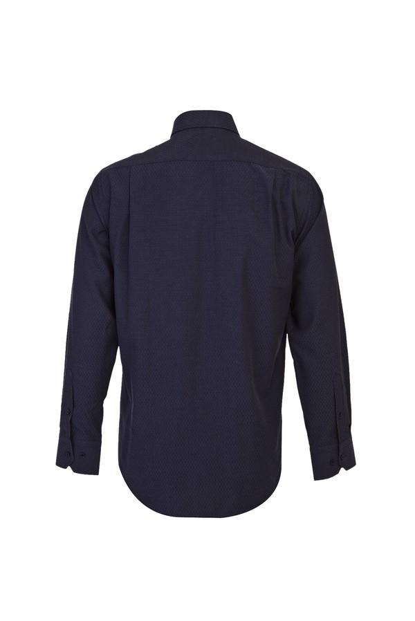 Uzun Kol Relax Fit Desenli Gömlek