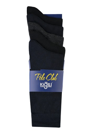 Erkek Giyim - 5'li Düz Çorap
