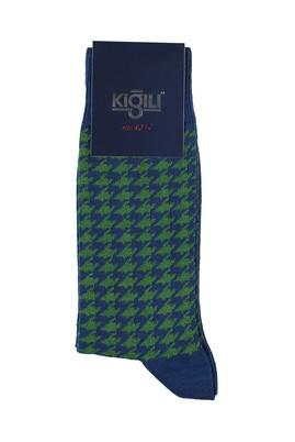 Erkek Giyim - İNDİGO 40 Beden Desenli Çorap