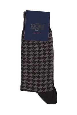 Erkek Giyim - ORTA KAHVE 40 Beden Desenli Çorap