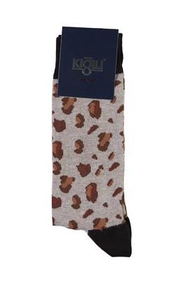 Erkek Giyim - KUM 40 Beden Desenli Çorap