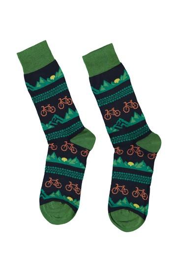 Erkek Giyim - Desenli Çorap