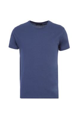 Erkek Giyim - İNDİGO XL Beden Bisiklet Yaka Slim Fit Tişört
