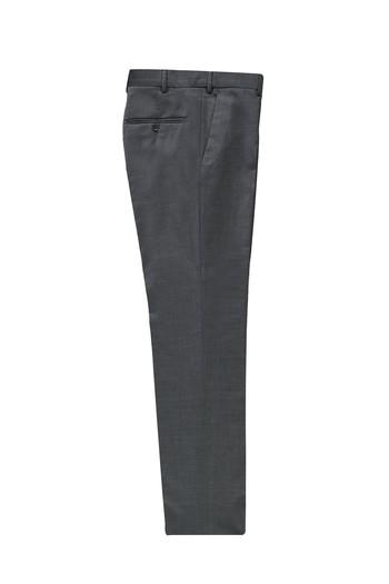 Erkek Giyim - Slim Fit Yünlü Klasik Kumaş Pantolon