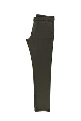 Erkek Giyim - AÇIK HAKİ 48 Beden Slim Fit Kuşgözü Spor Pantolon