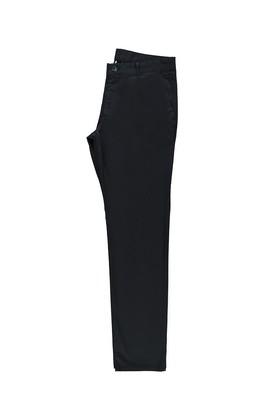 Erkek Giyim - ORTA LACİVERT 46 Beden Slim Fit Spor Pantolon
