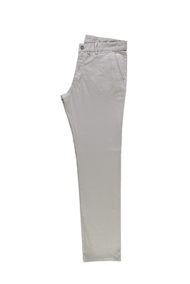 Erkek Giyim - ORTA BEJ 52 Beden Slim Fit Desenli Spor Pantolon