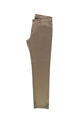 Erkek Giyim - KOYU BEJ 56 Beden Desenli Spor Pantolon