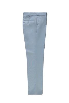 Erkek Giyim - AÇIK MAVİ 52 Beden Yünlü Klasik Pantolon