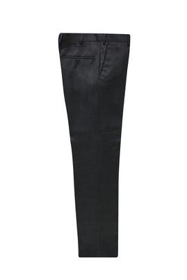 Erkek Giyim - AÇIK ANTRASİT 50 Beden Yünlü Klasik Pantolon