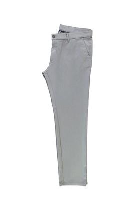 Erkek Giyim - AÇIK GRİ 48 Beden Desenli Spor Pantolon