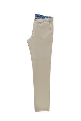 Erkek Giyim - BEJ 50 Beden Desenli Spor Pantolon