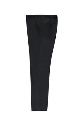 Erkek Giyim - KOYU ANTRASİT 46 Beden Slim Fit Kuşgözü Klasik Pantolon
