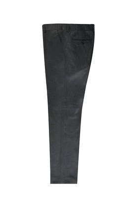 Erkek Giyim - ORTA FÜME 46 Beden Slim Fit Kuşgözü Klasik Pantolon