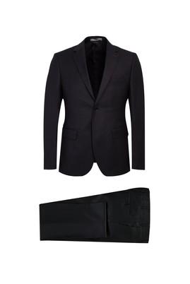 Erkek Giyim - KOYU FÜME 46 Beden Slim Fit Takım Elbise