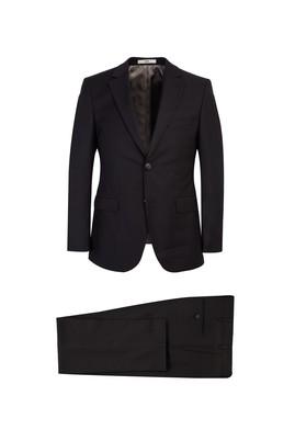 Erkek Giyim - Siyah 58 Beden Klasik Takım Elbise
