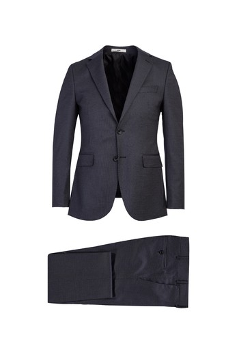 Erkek Giyim - Klasik Kuşgözü Takım Elbise