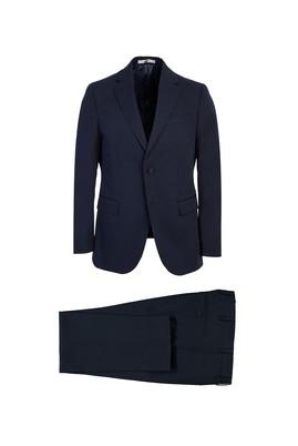 Erkek Giyim - LACİVERT 50 Beden Klasik Takım Elbise