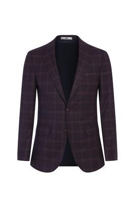 Erkek Giyim - MÜRDÜM 48 Beden Klasik Ekose Ceket