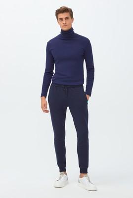 Erkek Giyim - LACİVERT L Beden Slim Fit Jogger Pantolon