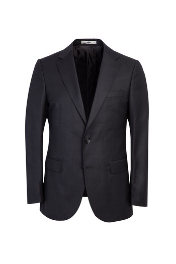 Erkek Giyim - Klasik Kuşgözü Yünlü Takım Elbise