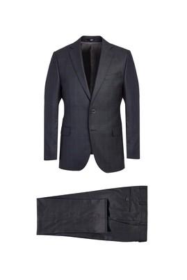 Erkek Giyim - ANTRASİT 46 Beden Klasik Takım Elbise