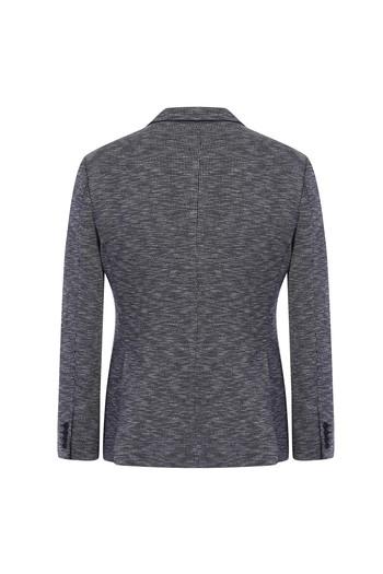 Erkek Giyim - Klasik Kuşgözü Örme Ceket