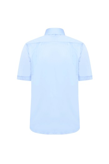Erkek Giyim - Kısa Kol Regular Fit Spor Gömlek