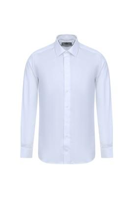 Erkek Giyim - BEYAZ L Beden Uzun Kol Non Iron Slim Fit Gömlek