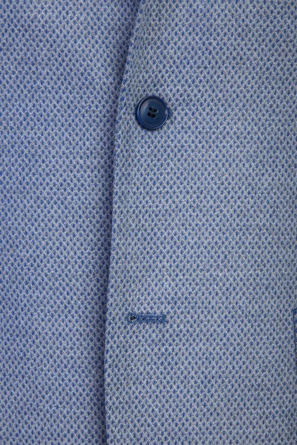 Slim Fit Kuşgözü Ceket