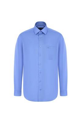 Erkek Giyim - AQUA MAVİSİ XL Beden Uzun Kol Non Iron Klasik Gömlek