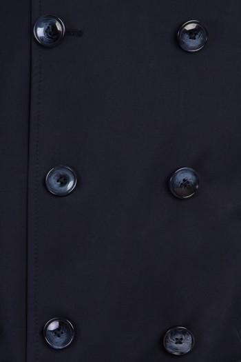 Erkek Giyim - Kruvaze Trençkot