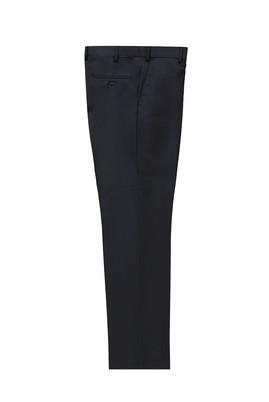 Erkek Giyim - KOYU LACİVERT 56 Beden Yünlü Klasik Pantolon