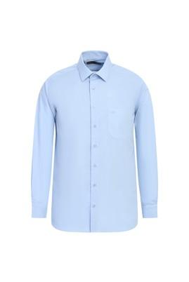 Erkek Giyim - UÇUK MAVİ 3X Beden Uzun Kol Coolmax Gömlek