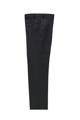 Erkek Giyim - KOYU FÜME 52 Beden Yünlü Klasik Pantolon