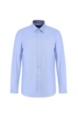 Erkek Giyim - GÖK MAVİSİ M Beden Uzun Kol Klasik Gömlek