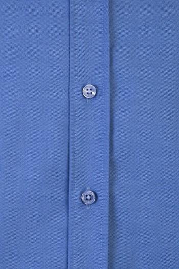 Erkek Giyim - Uzun Kol Oxford Slim Fit Gömlek