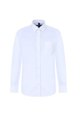 Erkek Giyim - BEYAZ XXL Beden Uzun Kol Oxford Klasik Gömlek