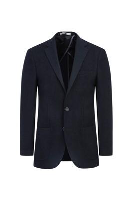 Erkek Giyim - SİYAH 48 Beden Klasik Kuşgözü Ceket