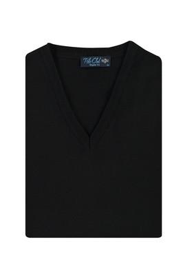 Erkek Giyim - SİYAH 4X Beden Regular Fit Süveter