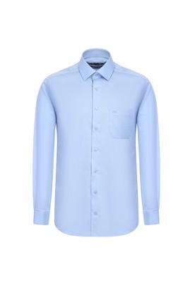 Erkek Giyim - UÇUK MAVİ 4X Beden Uzun Kol Non Iron Klasik Gömlek